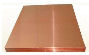 Material CW110C; 2.0850 Copper